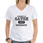 Catch XXII University Women's V-Neck T-Shirt