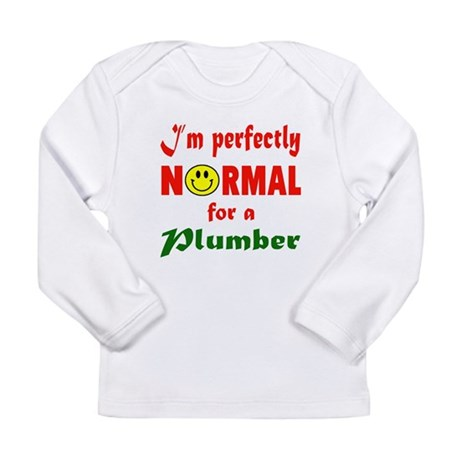 I'm perfectly normal fo Long Sleeve Infant T-Shirt