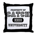 Catch XXII University Throw Pillow