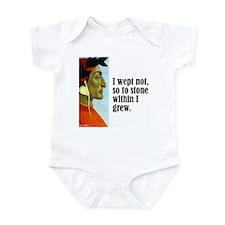 """Dante """"I Wept Not"""" Infant Bodysuit"""