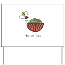 Cute Cute bee Yard Sign