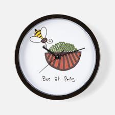 Cool Peas Wall Clock