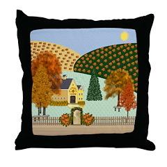 Pumpkin Hollow Throw Pillow