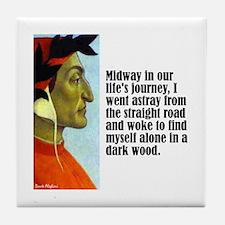 "Dante ""Midway"" Tile Coaster"