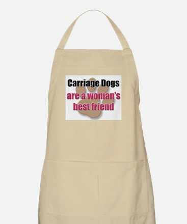 Carriage Dogs woman's best friend BBQ Apron