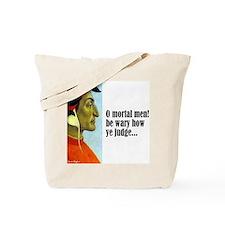 """Dante """"O Mortal Men"""" Tote Bag"""