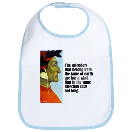 "Dante ""The Splendors"" Bib"