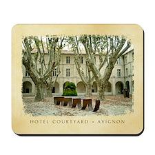Mousepad - Avignon Courtyard