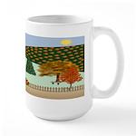 Pumpkin Hollow Large Mug