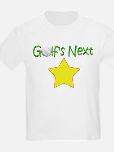 Golf's Next Star Funny Golf Kid's T-Shirt