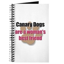 Canary Dogs woman's best friend Journal
