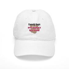 Canary Dogs woman's best friend Baseball Cap