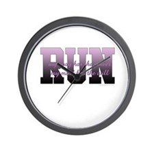 RUNNER Wall Clock