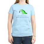 I'M A DINOSAUR WITHOUT COFFEE! Women's Light T-Shi