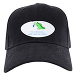 I'M A DINOSAUR WITHOUT COFFEE! Black Cap