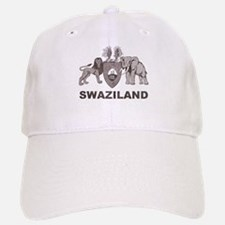 Retro Palm Tree Swaziland Baseball Baseball Cap