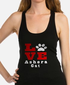 Love ashera Cat Racerback Tank Top