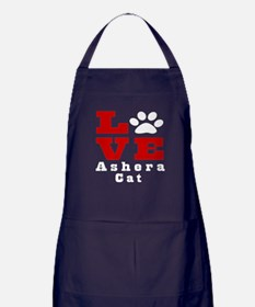 Love ashera Cat Apron (dark)