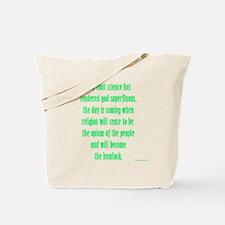 Unique Skepticism Tote Bag