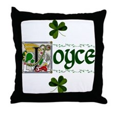 Joyce Celtic Dragon Throw Pillow
