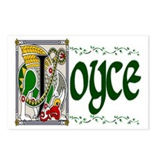 Joyce Celtic Dragon Postcards (Package of 8)