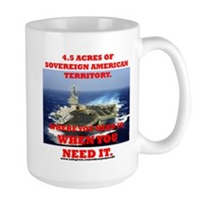 Aircraft Carrier Mug