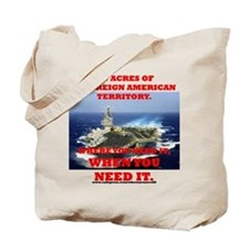 Aircraft Carrier Tote Bag