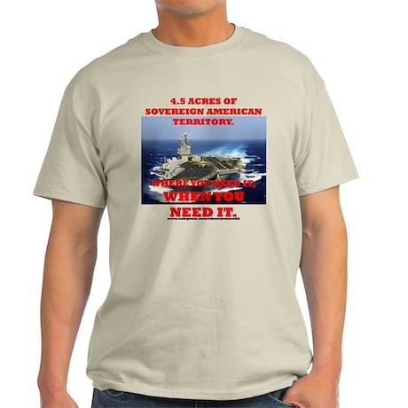 Aircraft Carrier Light T-Shirt