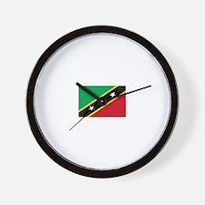 Saint Kitts and Nevis Wall Clock