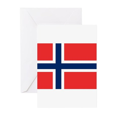 Norway Greeting Cards (Pk of 10)