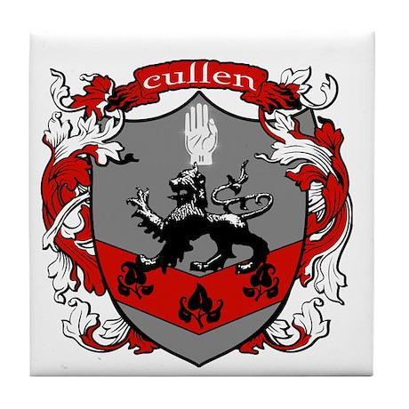 Cullen Family Crest Tile Coaster
