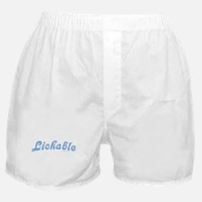 Lickable - Blue Boxer Shorts