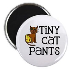 "Tiny Cat Pants 2.25"" Magnet (10 pack)"