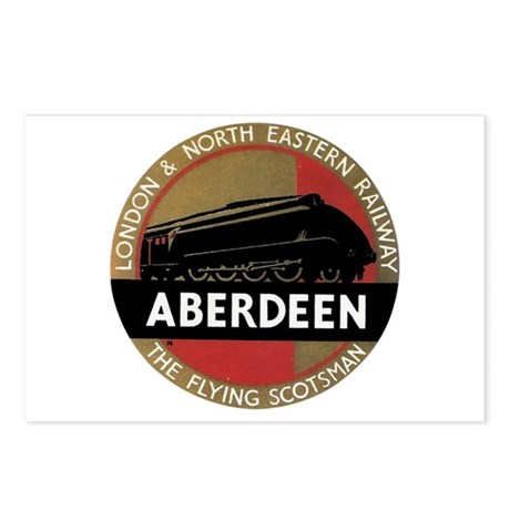 Aberdeen Postcards (Package of 8)