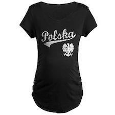 Polska Baseball Style T-Shirt