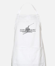 To Ski Or Not To Ski BBQ Apron