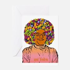 Sai Baba Greeting Card