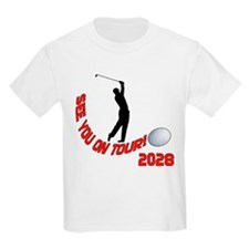 See You on Tour! Funny Golf Kids T-Shirt