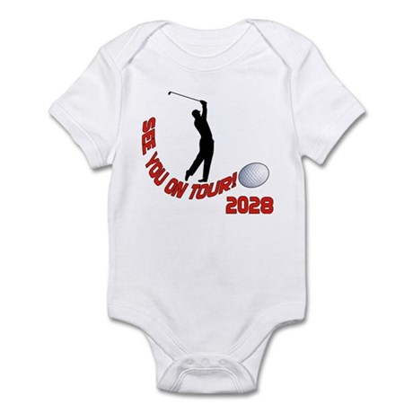 See you on Tour! Funny Golf Infant Bodysuit