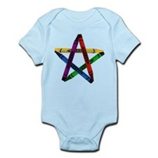 Crayon Pentacle Infant Creeper
