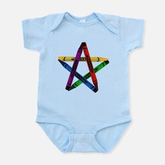 Crayon Pentacle Infant Creeper