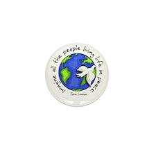 Imagine - World - Living In P Mini Button (10 pack