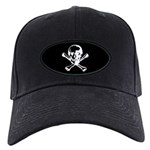 Skull and cross bones Black Cap