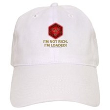 Loaded D20 (Red) Baseball Cap