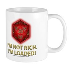 Loaded D20 (Red) Mug