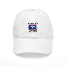 Wyoming Love Me Baseball Cap