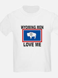 Wyoming Love Me T-Shirt