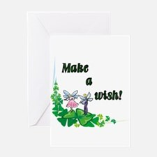 Make a Wish - Pixies Greeting Card