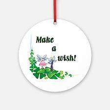 Make a Wish - Pixies Ornament (Round)