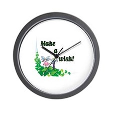 Make a Wish - Pixies Wall Clock